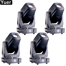 цена на 4Pcs/Lot LED 350W 3IN1 Disco Light DMX Stage Spot Beam Wash Moving Head 21/26 Channels With Frost Effect Stage DJ Disco Lights