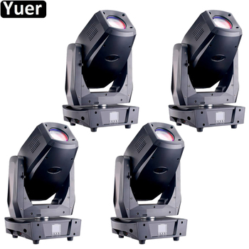 4Pcs/Lot LED 350W 3IN1 Disco Light DMX Stage Spot Beam Wash Moving Head 21/26 Channels With Frost Effect Stage DJ Disco Lights new stage light 260w led spot zoom moving head light 6 18 dmx channels beam spot wash 3in1 led strong light for party disco dj