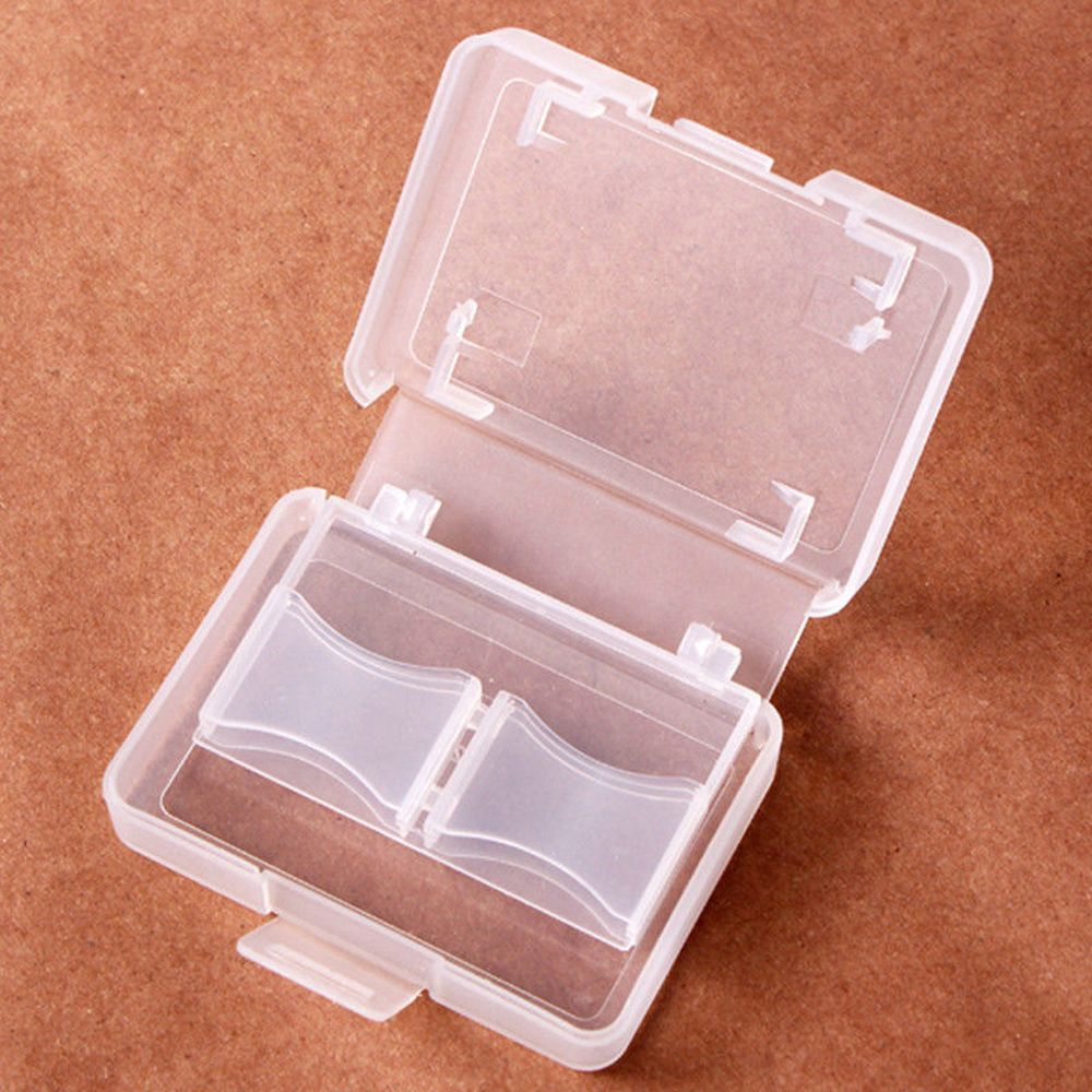 For CF/SD Card Compact Flash Memory Card Protecter Box Storage Plastic Case Holder