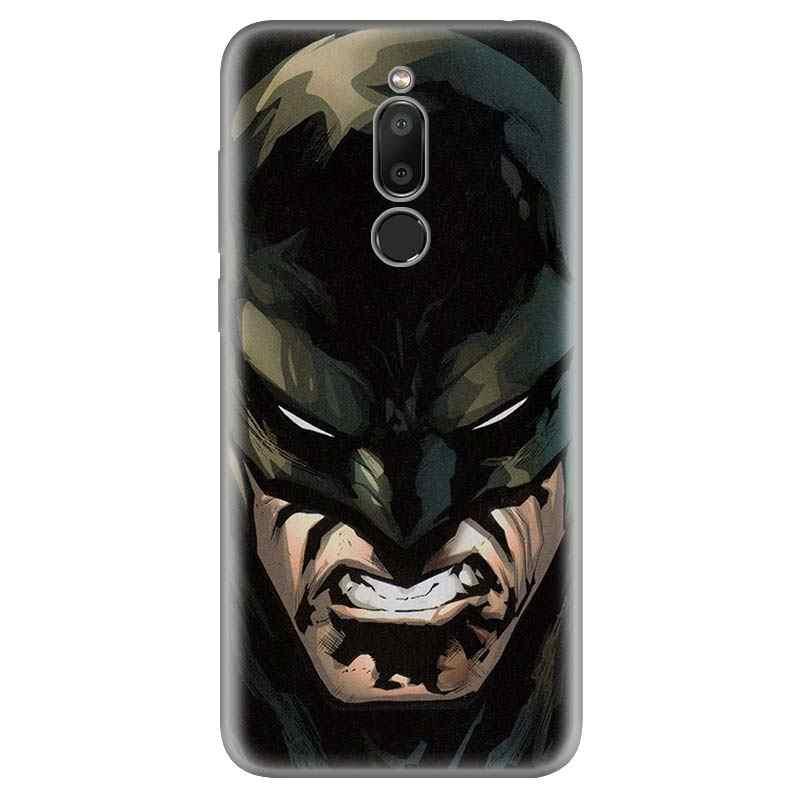 Batman Joker Dark Knight Case Silikon untuk Meizu M6T 16 16X16 Th 16 S 16Xs Lembut Hitam ponsel Bumper Pelindung Capa