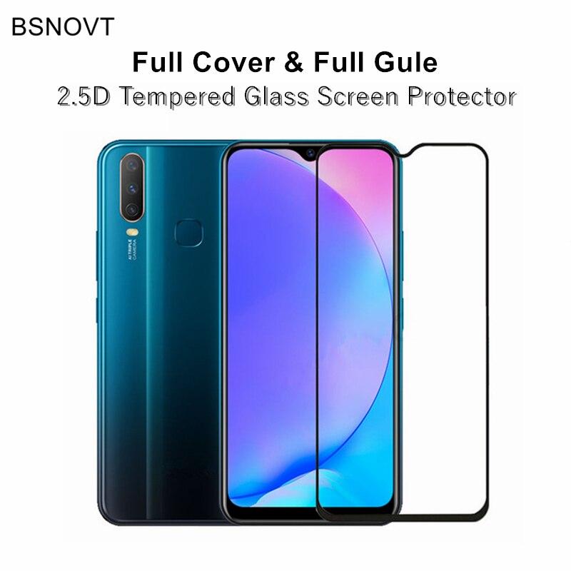 2pcs Full Cover & Full Glue Screen Protector Reno2 Tempered Glass Full Cover Phone Glass For OPPO Reno 2 Phone Film Reno2 6.5