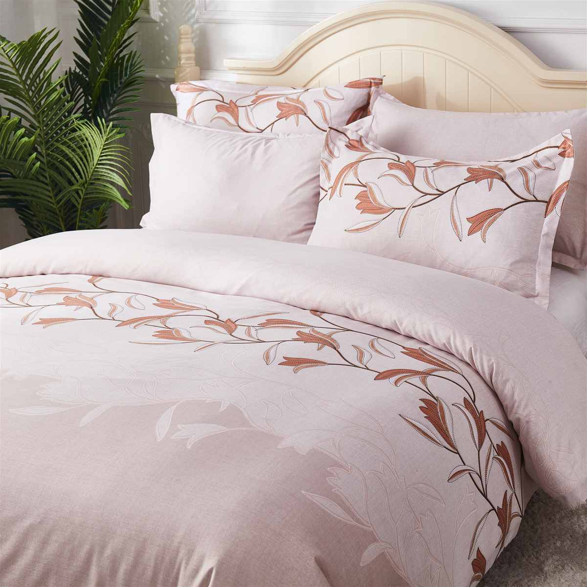 3D Flowers Duvet Cover Sets Queen King Comforter Bedding Sets With Pillowcase