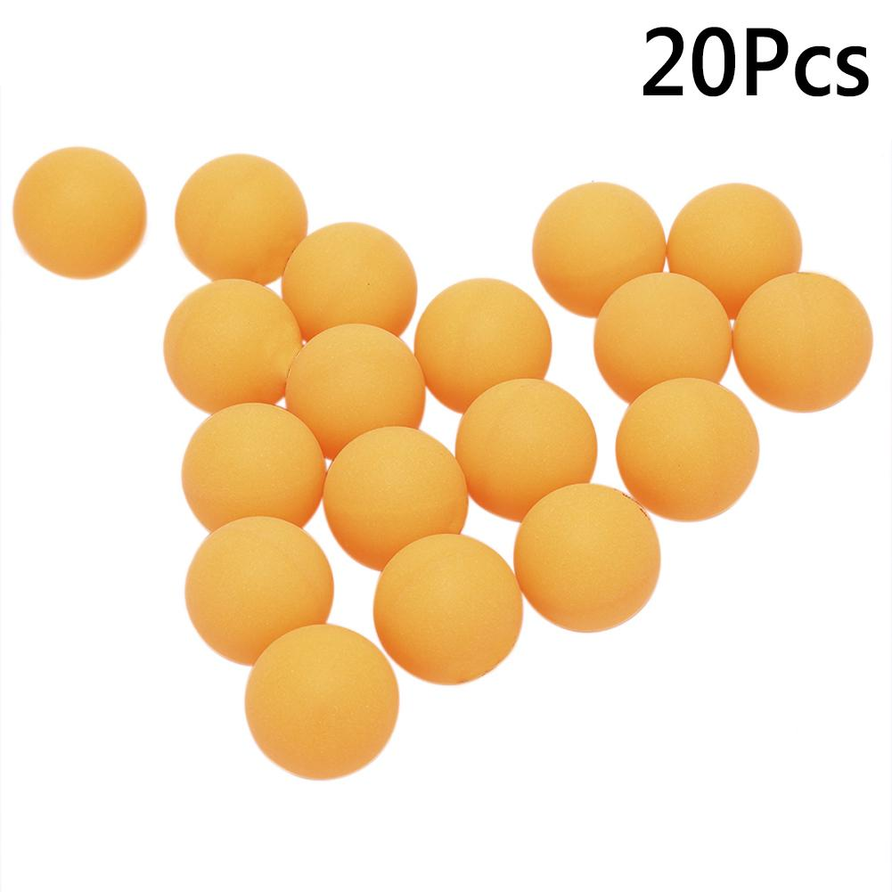 20Pcs/Set ABS 40mm Professional Seamless Ping-pong Match Training Table Tennis Balls for Ping Pong Training Racquet Sports match