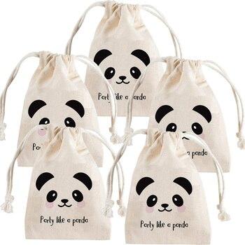 Lote de 5 uds. De bolsas de caramelos Goodie, para Baby Shower, niño y niña, decoración temática de 1er, 2ª, 3ª, 3ª y 5ª, cumpleaños, color blanco y negro