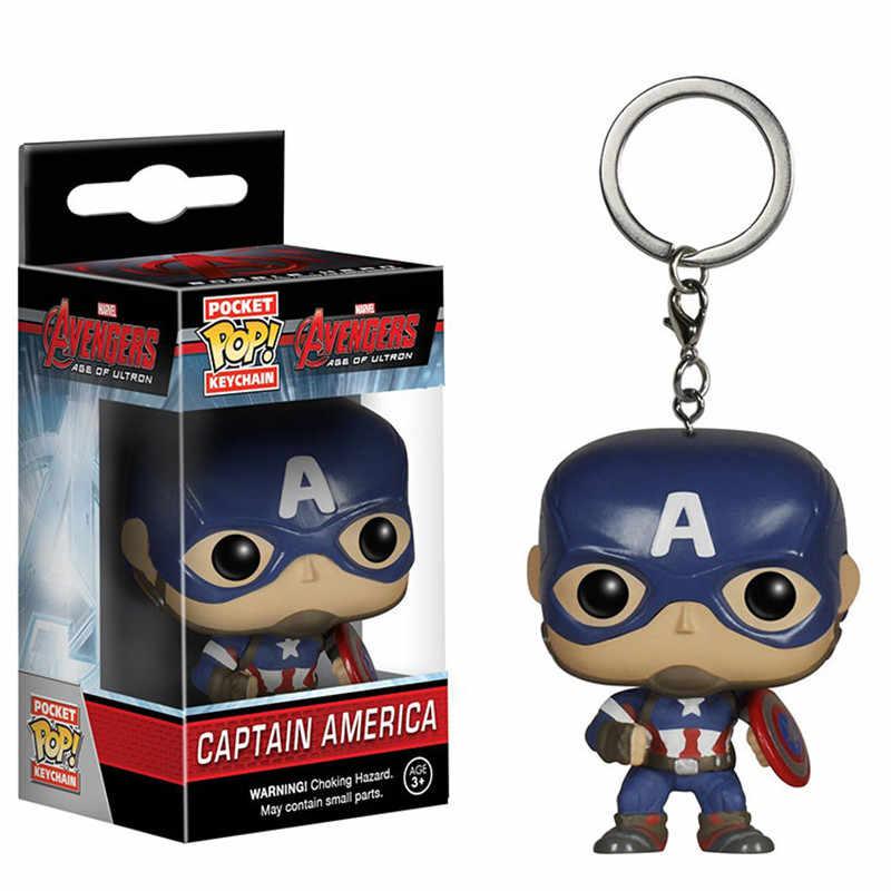 Marvel chaveiro homem de ferro chaveiro bonito carro chaveiro dc comics batman chaveiro para chaves