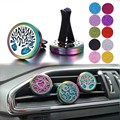 2020 neue Auto Lufterfrischer Clip Auto Parfüm Diffusor Lufterfrischer Vent Auto Ätherisches Öl Parfüm Medaillon Diffusor Vent Clip