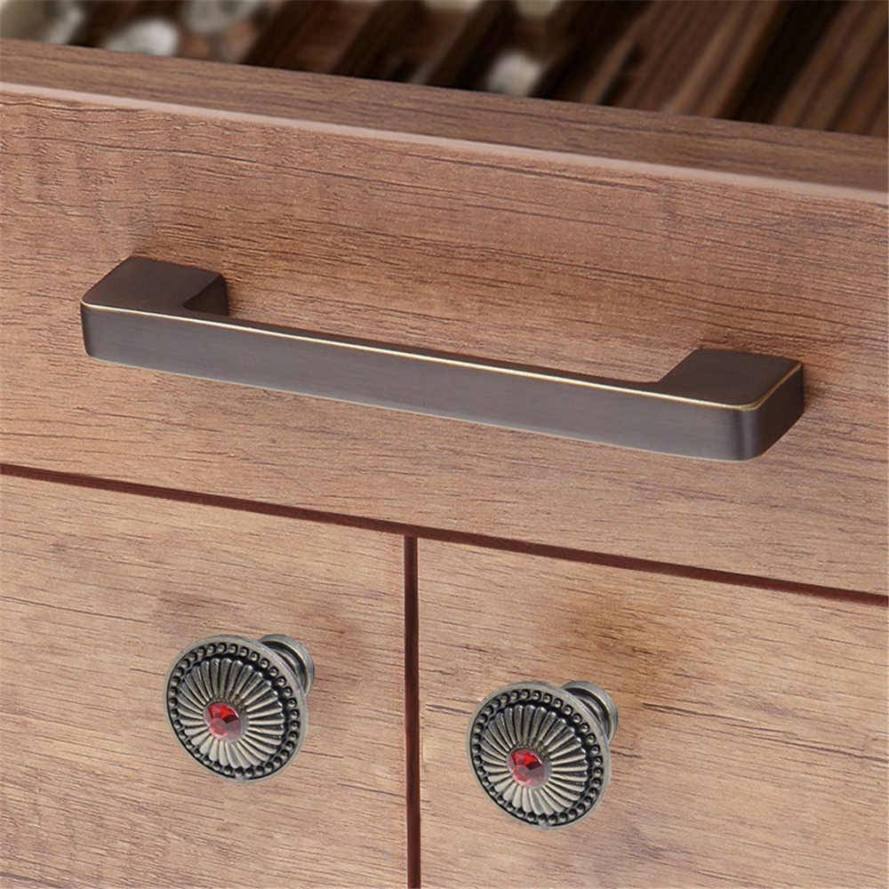 1pc Furniture Handle Pull Knob Drawer Knobs For Cabinet European Style Handles Hardware