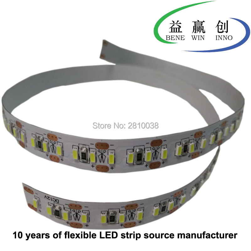 100M/Lot IP22 204leds/M 3014 led strip light CRI 90 flexible led light strip 3014 DC12/24V 10mm wide led strips 20.4W/M led tape