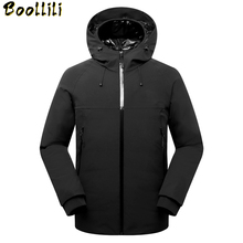2020 New Men Down Jacket Winter Parkas Men #8217 s White Duck Down Set Coats Goose Feather Liner Detachable Thick Warm Down Jackets cheap Loose 9106 Casual zipper Full 3D Print Wave Cut Epaulet Zippers Thick (Winter) Broadcloth Acetate Polyester Hat Detachable