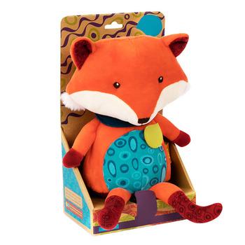 Śliczne rozmowy pluszowy lis pocieszyciel zabawki dzieci nauczanie edukacyjne język zabawka lalka pocieszyciel zabawki lis pluszowy dzieci tanie i dobre opinie FGHGF safe use Fox Plush Doll Pp bawełna 2-4 lat 11 cm-30 cm Zwierzęta i Natura