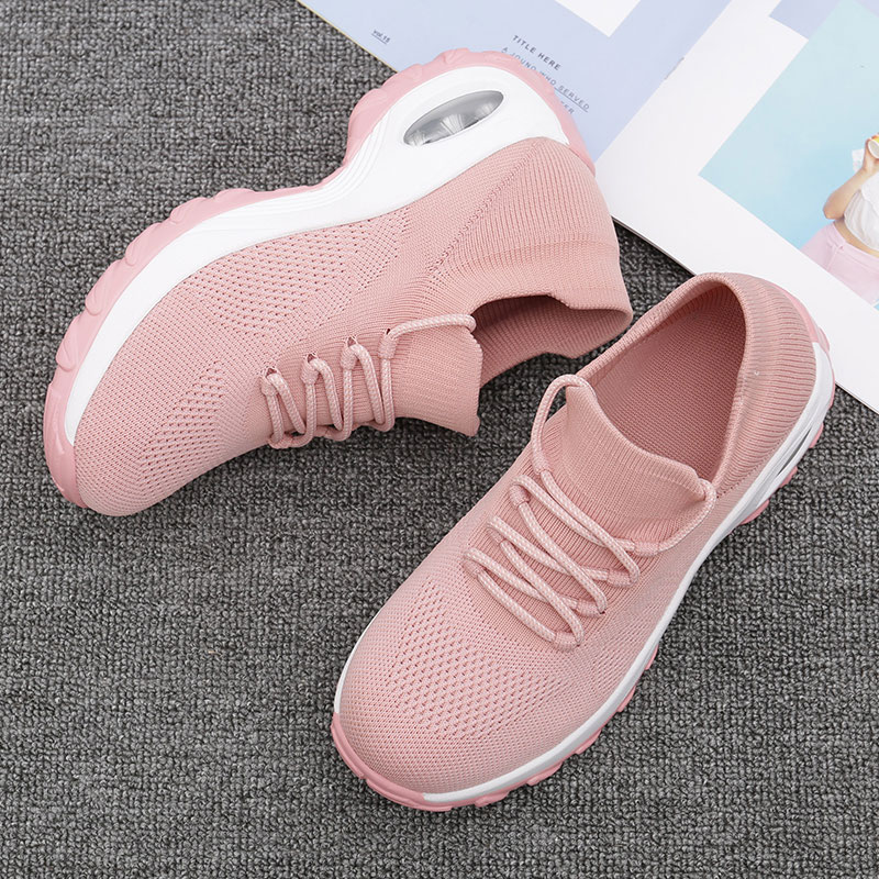 Image 3 - MWY Wedges Shoes For Women Yellow Sneakers Comfort Ladies Trainers Women Casual Shoes Platform Shoes Plus Size Chaussures Femme-in Women's Vulcanize Shoes from Shoes