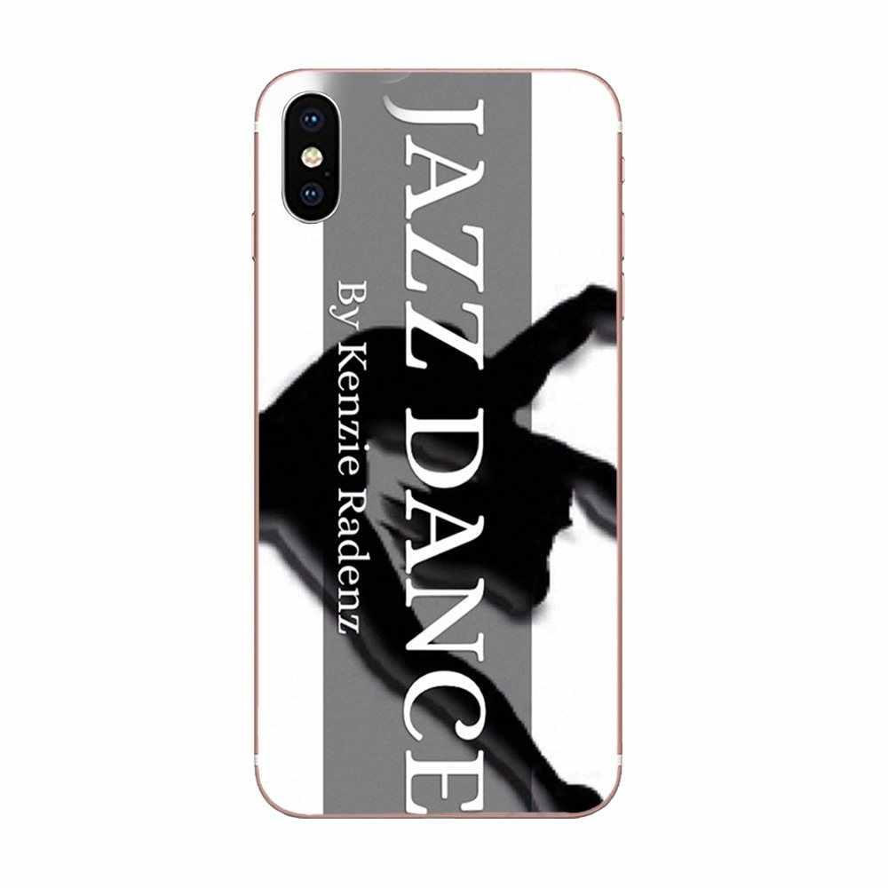 Hermosa danza Jazz suave Protector de pantalla para Galaxy Grand A3 A5 A7 A8 A9 A9S On5 On7 Plus Pro estrella 2015, 2016, 2017, 2018
