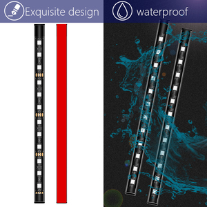 4 in 1 USB RGB LED Strip Kit Durable Practical Multi-functional App Music Control Car Foot Ambient Decorative Light