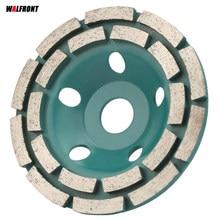 Meule diamant, 125x22.2mm, pour meuleuse, coupe, coupe, béton, marbre, granit