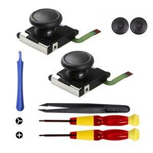 Image 3 - Bevegac controlador de jogos analógicos 3d, joystick para nintendo switch ns joy con, 21 peças aparelhos