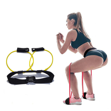 Fitness Booty Butt Bands Set with Adjustable Waist Belt Pedal Exerciser Elastic for Legs Muscle Training Workout