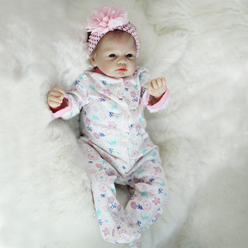 Reborn Baby Rebirth Infant Doll Soft Silicone Reborn Dolls Hot Selling Baby Gifts Doll Waterproof Bath Toy Simulation Baby Doll 55cm full silicone body rebirth crooked mouth doll simulation rebirth toddle baby doll toys children birthday presents