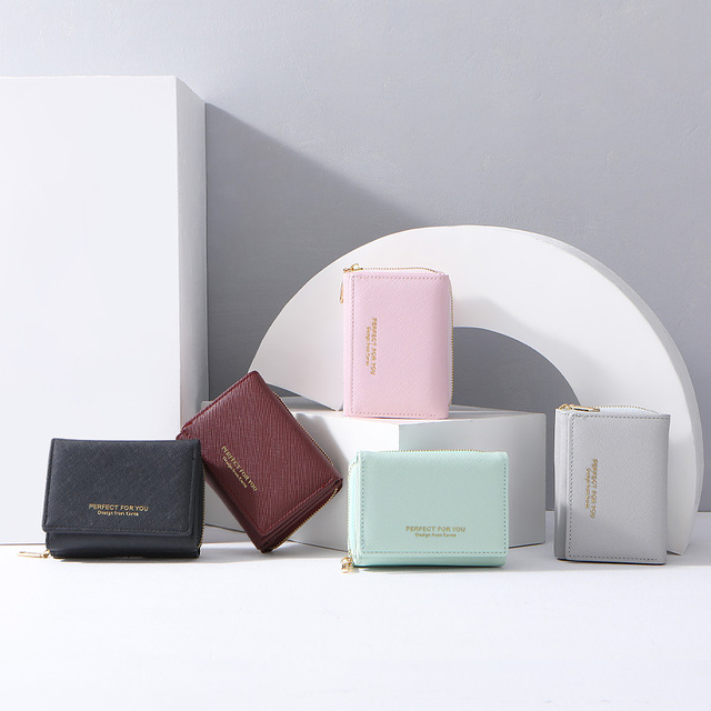 Trifold Women Wallet With Coin Pocket