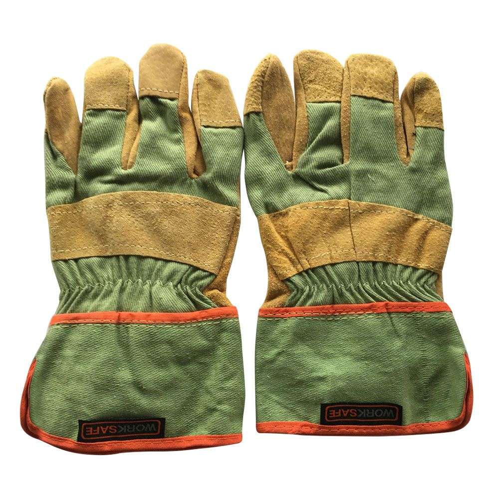 Safety Wear resisting Welding Gloves Protective Garden Sports MOTO Leather Genuine For Any Workers Thicken Welding Gloves|  - title=