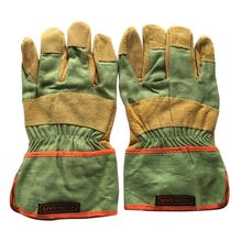 Safety Wear-resisting Welding Gloves Protective Garden Sports MOTO Leather Genuine For Any Workers Thicken Welding Gloves mechanics driver men moto work gloves waterproof safety garden gloves leather welding protective cowhide racing garden gloves