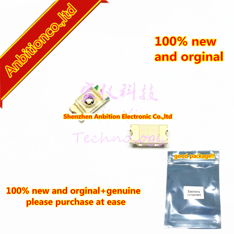 10pcs  100% New And Orginal AN1102W Infrared LED SMD 3216 GaAs Emission 950nm AN1102W-TR  In Stock