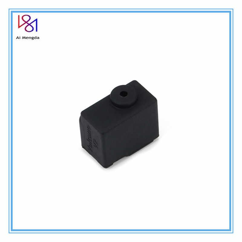Meia de silicone volcânica v2, bloco aquecido vulcânico, bowden/extrusora direta 3d peças da impressora,