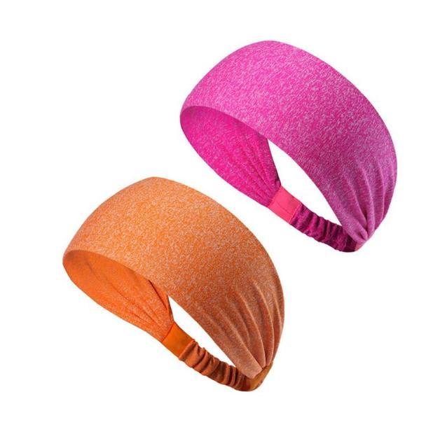 Women's Sports Belt Sports Headband Sweat Stretch Stretch Yoga Running Hood Fitness Sports Safety Headband 2