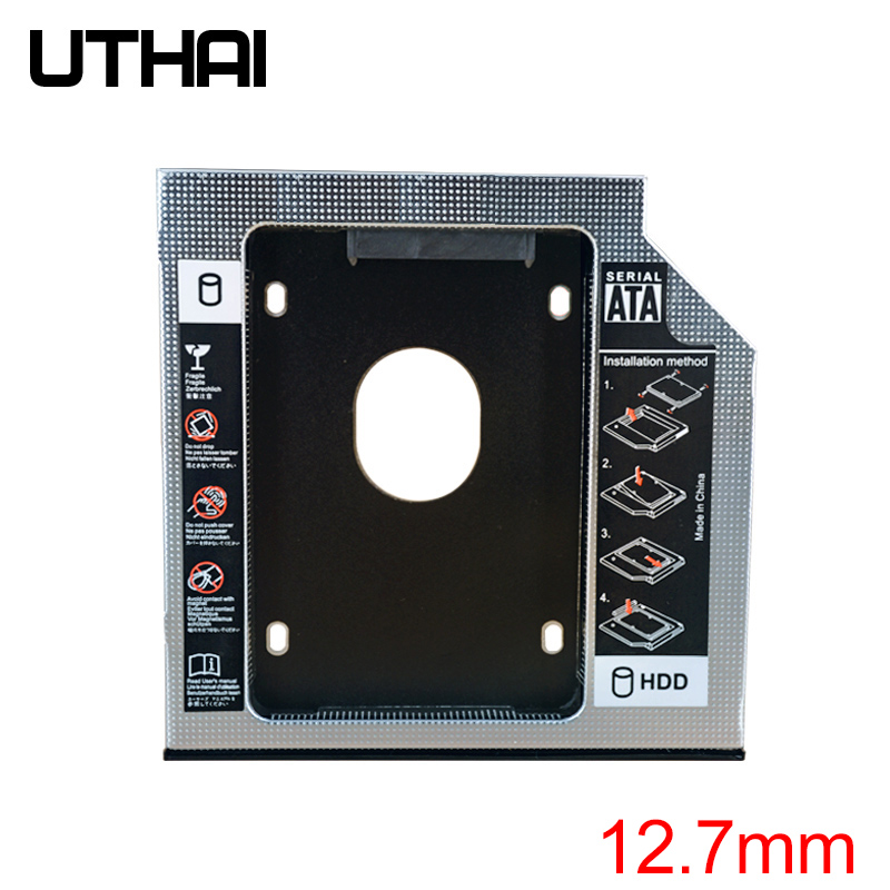 UTHAI T01 CD-ROM Drive Hard Disk Bracket Laptop Internal Enclosure 2.5 Inch SATA I II III HDD Drive 12.7mm SATA3