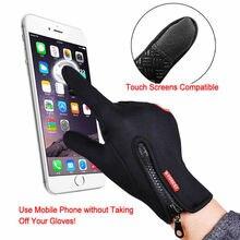 2020 New Fashion Men Women Winter Warm Windproof Waterproof Thermal Touch Screen Gloves