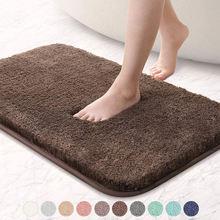 Нескользящий коврик для ванной с высокой абсорбирующей водой