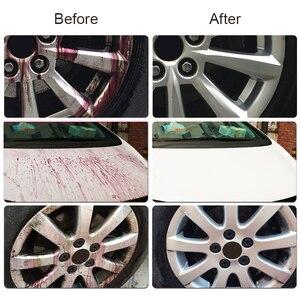 Image 4 - 500ml מכונית סגסוגת גלגל ספריי לניקוי חלודה Remover עבור צבע אוטומטי בצור חישוקים צמיג טיפול המפרט כביסה כלים אבזרים