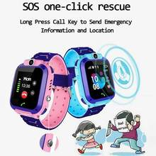 Kids Smart Watch Kids 4G WIFI GPS Tracker Anak Watch Ponsel Digital SOS Alarm Clock Kamera Ponsel untuk anak-anak Q12(China)