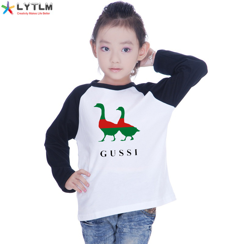 LYTLM Boys Animal Print Tshirt <font><b>Best</b></font> <font><b>Friend</b></font> Girls T-<font><b>shirt</b></font> Modal <font><b>Kid</b></font> Raglan <font><b>Shirts</b></font> Christmas Clothing for Children Koszulki Meskie image