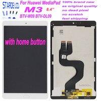 Starde 8,4 ''Lcd для Huawei MediaPad M3 BTV-W09 BTV-DL09 ЖК-дисплей кодирующий преобразователь сенсорного экрана в сборе черный гибкий кабель с домом