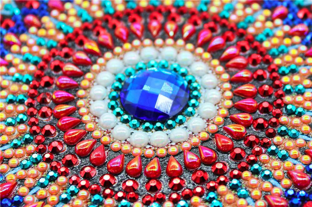 الماس اللوحة الدفاتر خاص على شكل سانتا كلوز البومة الطاووس ماندالا فراشة يوميات كتاب الماس التطريز A5 فسيفساء هدية