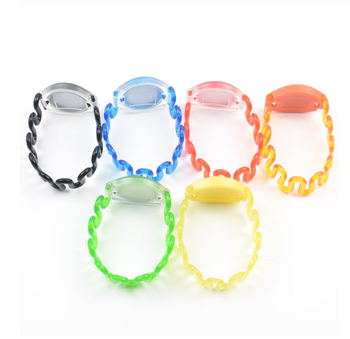 100pcs UID Changeable Spring Silicone Wristband Bracelet Block 0 Writable 13.56mhz RFID Rewritable Proximity Smart Card