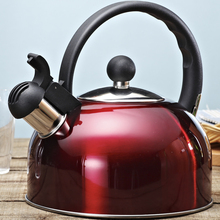 Whistling-Kettle Gas-Stove Water-Bottle-Ru for Chaleira Bouilloire New