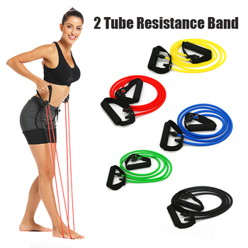 120 cm Resistance Band Yoga Exercise Elastic Band Fitness Pull Rope Pilates Training Expande Tubes for Gym Home Strength Workout new pilates suspension elastic sling practice pull rope bungee home workout trainer cord resistance hang training straps
