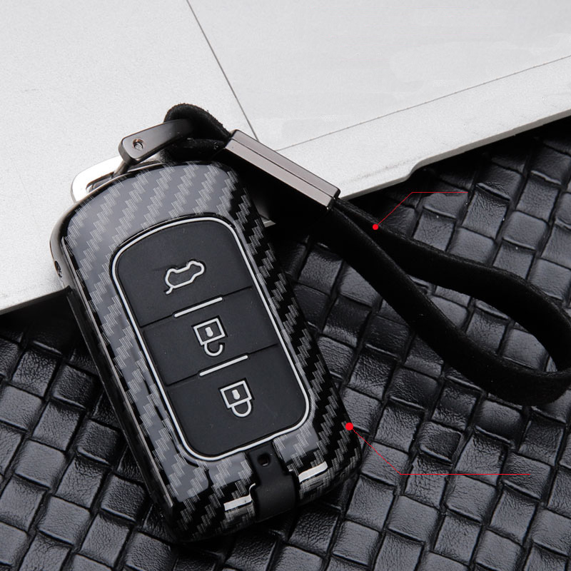 New Zinc alloy silica gel Smart Car Key Case Full Cover For Mitsubishi Outlander Lancer 10 Pajero Sport L200 ASX RVR Accessories