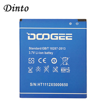 Dinto NEW DOOGEE X5 2400mAh 3.7V Batteries Replacement Backu