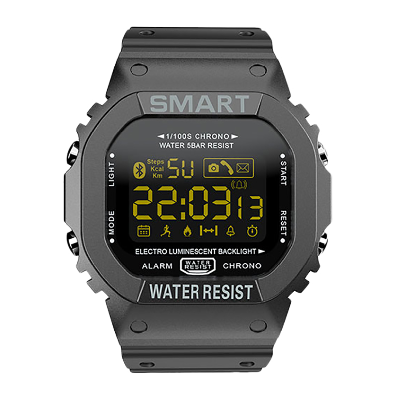 MK22 Smart Watch Men Sport Fitness Pedometer Water Resistance Call Reminder Clock Digital SmartWatch For IOS Android