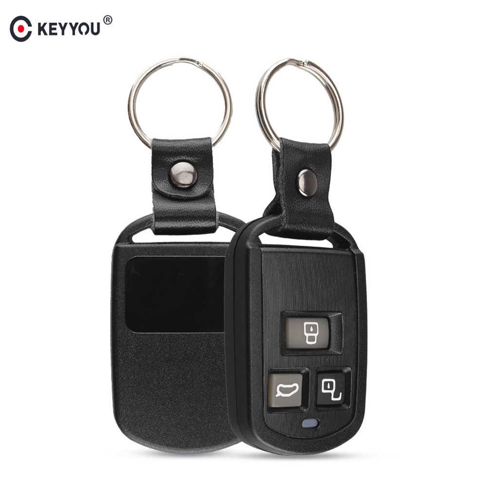 Para Hyundai Elentra Santa 2 botón remoto clave Estuche sin soporte de la batería