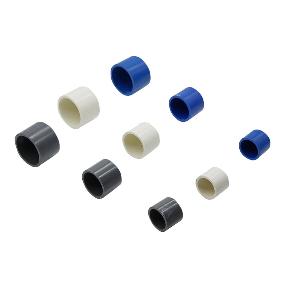 Inner Diameter 20/25/32mm PVC Pipe End Plug Water Pipe Plug Tube End Cap Garden Irrigation Pipe Fittings  Plumbing Accessories