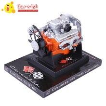 1:6 вне печати Модель двигателя для Chevrolet Корвет V8 седан