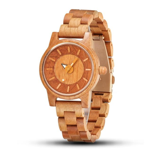 Shifenmei 2019 Couple Wristwatch Wood Watches Women Men Analog Quartz Fashion Watch for Couples Christmas Gifts erkek kol saati 3
