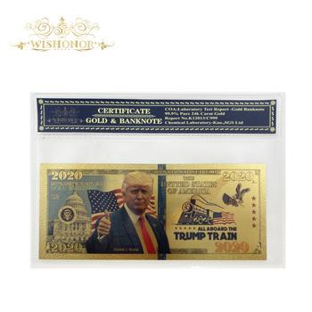 Najlepsza cena dla 2020 #8217 s amerykański banknotów banknoty dolarowe w 24 pozłacane świata bankot waluta uwaga fałszywe pieniądze z obudowa z tworzywa sztucznego tanie i dobre opinie FGHGF Patriotyzmu Antique sztuczna 5 days after you paid America Souvenir collection Gold