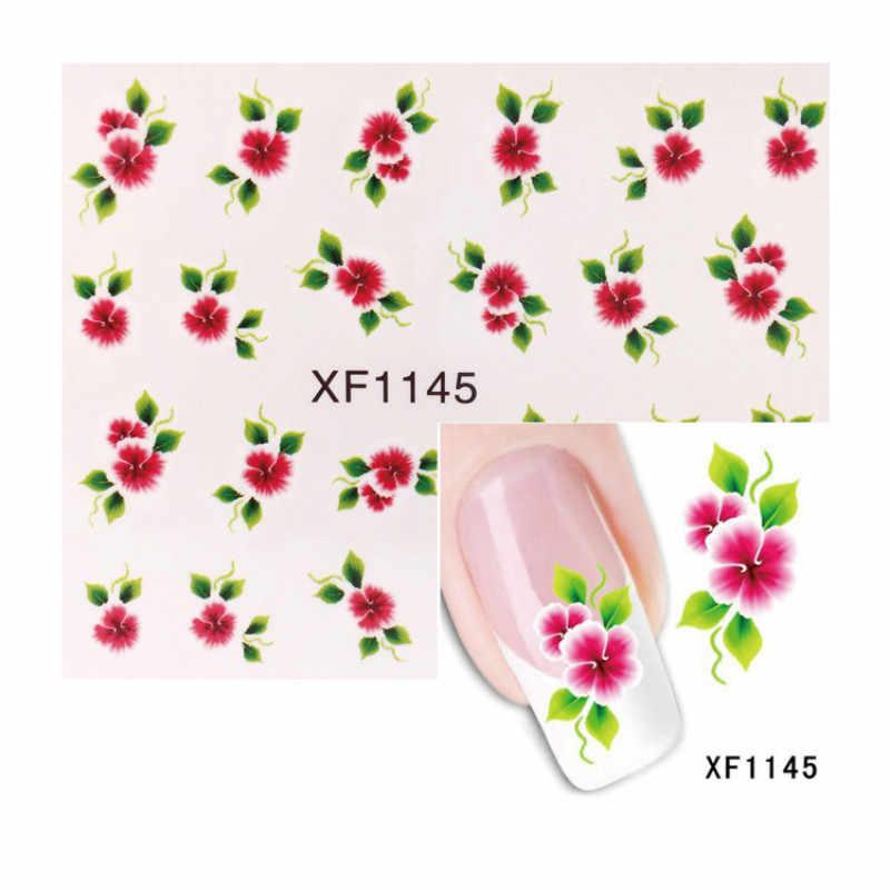 1Pcs แฟชั่น DIY ดอกไม้เล็บปั๊มแสตมป์ภาพสแตนเลสเล็บแม่แบบลายฉลุเล็บเครื่องมือ 24 สไตล์