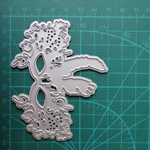 Mask Metal Cutting Dies Craft Die for Scrapbooking Masquerade Dies Cut Stamps Decor Embossing Stencils Cards Making naifumodo feather clear stamps and metal cutting dies scrapbooking 2019 new making cards craft dies set embossing decor stencils