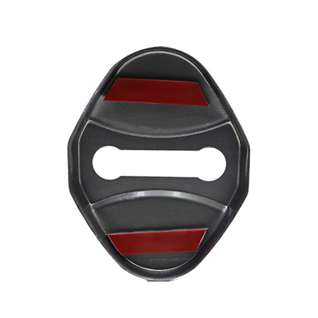 4pcs car Protection cover Car Door Lock car accessories interior For Jaguar F PACE E PACE XE XF R sport S Car sticker 2