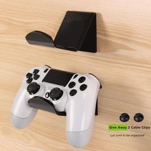 2 pçs controlador do jogo de vídeo fone de ouvido suporte de suspensão suporte de montagem na parede rack de exibição suporte de fone de ouvido jogo controlador de armazenamento rack